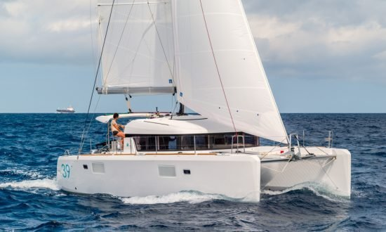 Yacht Image of woman on boat